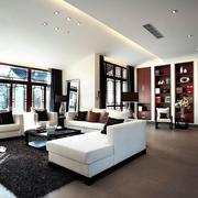 客厅木地板装修设计