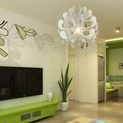 单身公寓电视墙背景