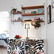 单身公寓背景墙装修