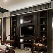 简约风格电视柜设计