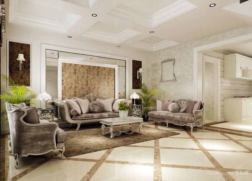 划时代的精装完美北欧风格客厅沙发背景墙效果图鉴赏