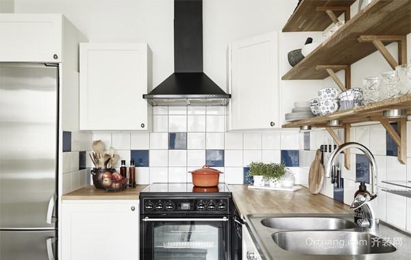 纯净之美:白色氧气系列100㎡家居装修效果图