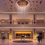 豪华型酒店大厅装修