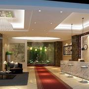 自然风格酒店大厅图片