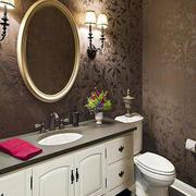 白色调浴室柜设计