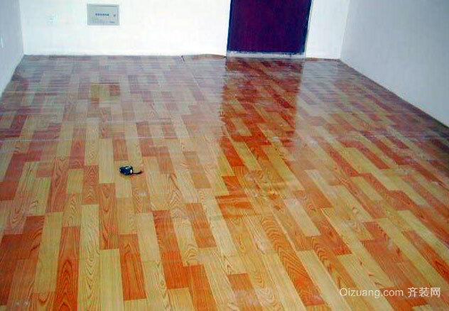 结实易用价廉物美的地板革设计装修效果图