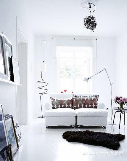 点亮黑暗的家居客厅创意灯饰装修效果图