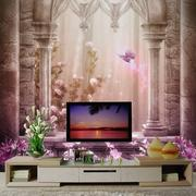 温情系列电视墙背景
