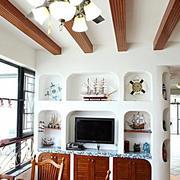 三室两厅吊顶装修图片
