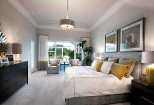 160平米浪漫美式古典房屋装修效果图