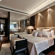 传统型卧室背景墙