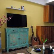 淡黄色调房屋空间设计
