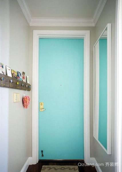80平米色彩个性化的个人单身公寓装修效果图