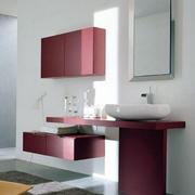 温馨型浴室柜设计