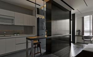 40平米超小公寓式住宅家居装修效果图