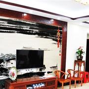 大户型电视背景墙