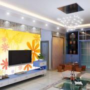 创意型电视背景墙