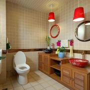 小卫生间柜子装修