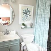 清爽型卫生间墙面设计