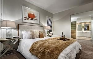 自然风格卧室装修图片