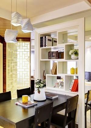 带你领略风采 三室两厅两卫客餐厅隔断装修效果图