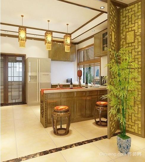 2015各种精美的厨房灯饰装修设计效果图