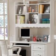 白色调书柜装修图片