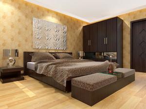 130平米现代简约略带古典优雅的房屋装修效果图