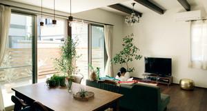 温馨的绿色亲子公寓设计装修效果图