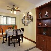 传统风格三室一厅装修