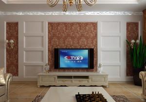 风格独特的古典混搭风格客厅吊顶装修效果图