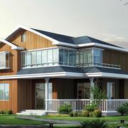 木质别墅窗户装修