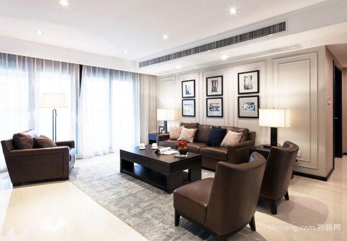 140平米现代宜家三居室家居室内装修效果图大全