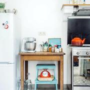 厨房地板砖装修图片