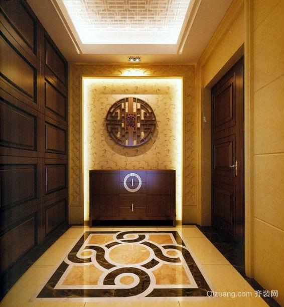 气质优雅的都市客厅进门玄关装修效果图大全