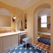 卫生间拱门效果图片