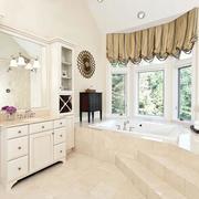 自然风光浴室柜效果图