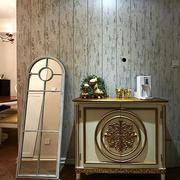 清新型客厅玄关装修