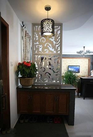 实用美观收纳家居屏风鞋柜隔断装修效果图