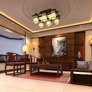 中式客厅装修大全