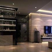 现代创意酒柜装修设计