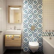现代创意卫生间图片