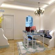 两室一厅地板砖装修