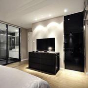 黑色系列电视柜设计