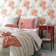 亮丽卧室壁纸装修