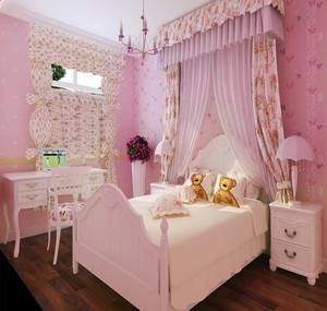 130平米巴洛克风格迷情浪漫主义房屋装修效果图
