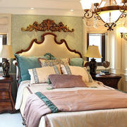 别墅卧室效果图片