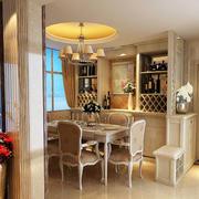 温馨系列酒柜装修设计
