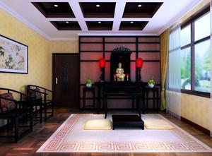 豪华的古典中式风格别墅设计装修效果图欣赏