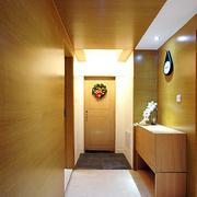 跃层客厅玄关装修